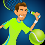 Stick Tennis MOD APK (Unlocked Rackets)
