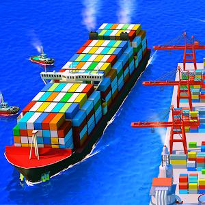 Sea Port: Cargo Ship MOD APK (Unlimited Gems)