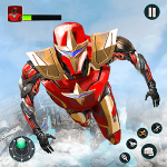 Flying Robot Hero MOD APK