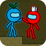Red and Blue Stickman MOD APK (Unlimited Money)